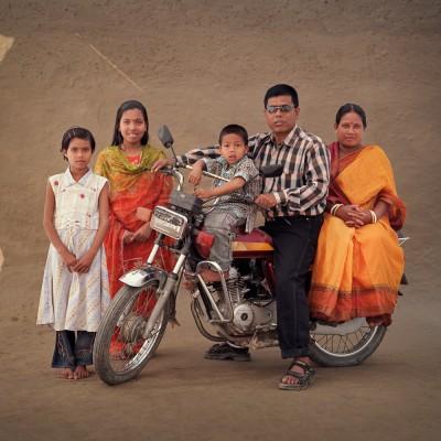Sepal Chandra Deb Sharma, 41, Sabetri Rani, 34. Shikha Rani, 14. Simu Rani, 9. Chandraangshu,5.
