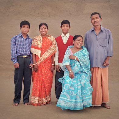Mitun,19. Sanatana, 16, married to Mitun. Shankar, 17. Promila Dabi, 40, housewife. Poresh Deb, 45, farmer.