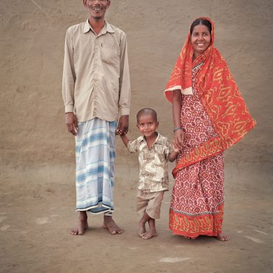 Aminul Islam, 38, farmer. Bagam,34,housewife.Tariqul, 3 years.