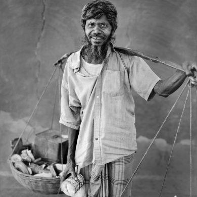 Asiruddin, 66, seller.